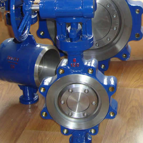 API lugged type butterfly valve