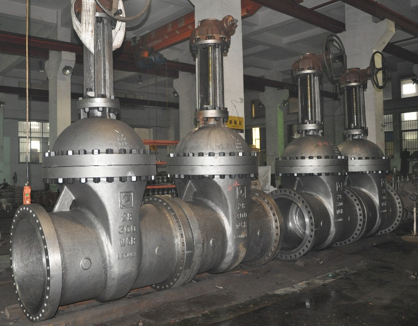 large size wedged gate valve class 300